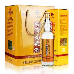 明水堂八二三台湾高粱酒53度600ml*6瓶礼盒酒金门高度白酒浓香型