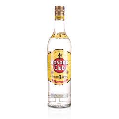 40°哈瓦纳俱乐部朗姆酒3年陈酿700ml