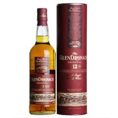 43°英国格兰多纳12年单一麦芽威士忌700ml