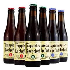 比利时进口啤酒罗斯福6号8号10号精酿啤酒330ml(6瓶组合装)