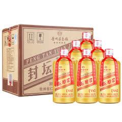 52° 茅台镇五凤玉 封坛原浆酒V6 浓香型整箱白酒 500ml*6