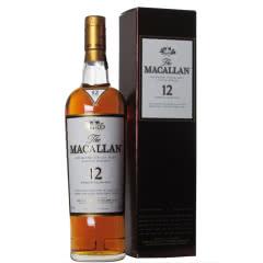 40°英国麦卡伦12年单一麦芽(雪莉桶)苏格兰威士忌700ml