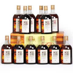 绍兴黄酒古越龙山清醇三年陈半甜花雕酒500mlx12瓶整箱自饮
