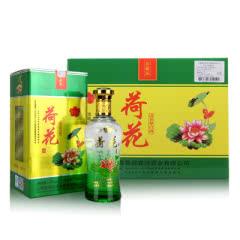 42°杏兴坊荷花原浆酒汾酒产地清香型白酒500ml(6瓶装)