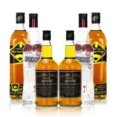 高朗40度洋酒暧昧伏特加+卡莎+狮王 700ml*6瓶组合