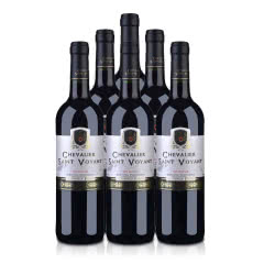 法国(原瓶进口)法圣古堡圣威骑士干红葡萄酒750ml(6瓶装)