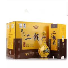 52°牛栏山经典二锅头黄龙500ml 6瓶 整箱