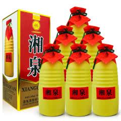 融汇陈年老酒54º酒鬼酒 湘泉酒500ml (6瓶装) 2012年