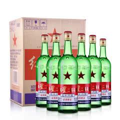 56°红星二锅头大二(原出口)750ml (6瓶装)