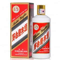 53°贵州茅台酱香型白酒 茅台飞天迎宾酒(飞天牌)500ml 单瓶装