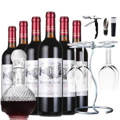 【法国进口】罗蒂庄园纳菲尔AOC级干红葡萄酒红酒750ml*6瓶整箱 两种规格可选