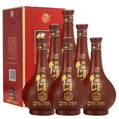 46°牛栏山二锅头典藏十二年陈酿清香型白酒500ml(6瓶整箱)