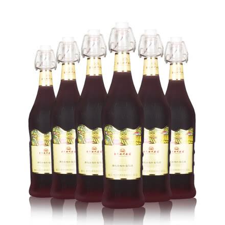 金色时代冰纯浓缩红葡萄酒 原汁甜型葡萄酒整箱750ml(6瓶)