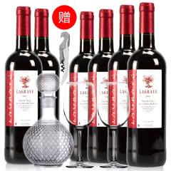 法国红酒整箱法国(原瓶进口)葛拉芙醇酿干红葡萄酒750ml*6支装