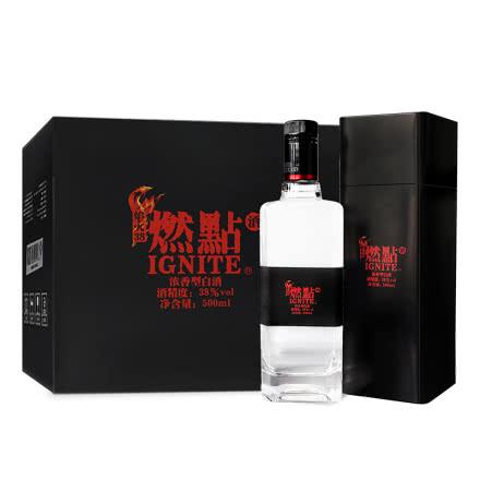 38° 燃点白酒-焰火 500ml(6瓶装)
