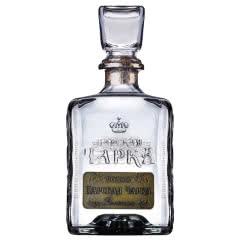 俄罗斯进口沙皇伏特加 洋酒烈酒鸡尾酒基酒500ml包邮送2个酒杯