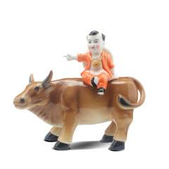 内蒙古特产传奇狼图腾酒 60度1.5L高度白酒牧童骑牛景德镇陶瓷包邮