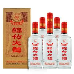 剑南春酒厂出品52度500ml*6瓶绵竹大曲纯粮经典盒装浓香型白酒整箱