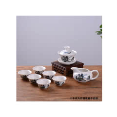 陶瓷功夫茶具套装雪花釉茶具