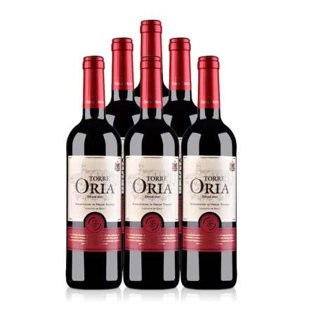 西班牙歐瑞安紅標DO級干紅葡萄酒750ml(6瓶裝)