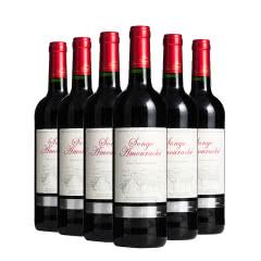 法国红酒原瓶进口爱思堡田园红葡萄酒750ml*6瓶整箱装