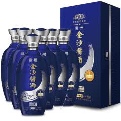 53°贵州金沙酱酒VIP至尊(2017)酱香型白酒 500ml*6瓶整箱【下单享回沙一箱】