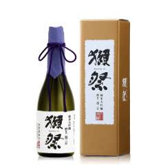 【进口日本清酒】16°獭祭23纯米大吟酿清酒720ml 獭祭精碾二割三分