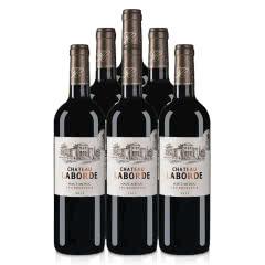 法国整箱红酒法国(中级庄)拉贝德城堡干红葡萄酒750ml(6瓶装)