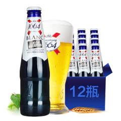 法国进口啤酒凯旋1664小麦白啤酒250ml(12瓶装)