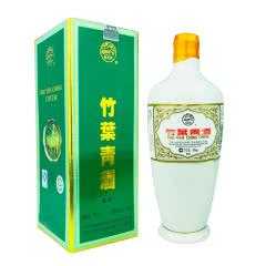 老酒 45º瓷瓶竹叶青酒盒装500ml(2009年)