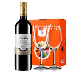 【中级庄】法国原瓶进口红酒史嘉隆庄园干红葡萄酒红酒单支送红酒杯750ml