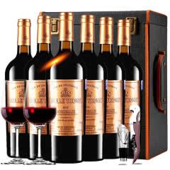 法国进口红酒卡斯特贝桐正牌干红葡萄酒红酒整箱红酒礼盒装750ml*6