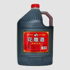 绍兴黄酒糯米酒五年陈花雕酒5L 桶装酒泡药泡阿胶料酒饮用