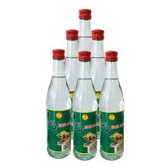 42°北京牛栏山二锅头陈酿白酒牛二 500ml*6瓶