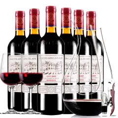 拉斐庄园2009珍酿进口红酒珍藏干红葡萄酒红酒整箱醒酒器装750ml*6