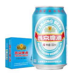 燕京啤酒 11特制精品 330ml(24听装)