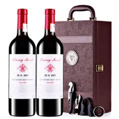 奔富至尊干红葡萄酒H·S409红酒礼盒装750ml*2