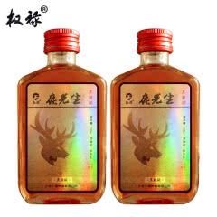38°权禄鹿先生三鞭梅花鹿鹿鞭酒100ml(2瓶装)