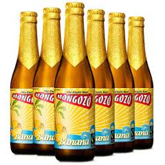 进口啤酒 比利时粉象厂梦果酌香蕉果味啤酒 330ml*6瓶