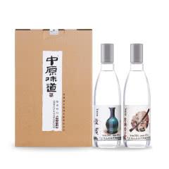 42度中原味道浓香型白酒248ml(2瓶装)