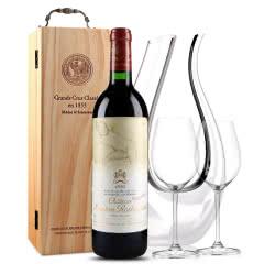 法国原瓶进口红酒 波亚克产区 木桐古堡干红葡萄酒 1994年 木桐正牌 单支 750ml
