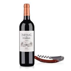 【自营】(列级庄·名庄·副牌)法国红酒法国狄士美酒庄副牌红葡萄酒750ml+酒刀