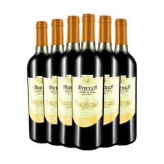 法国原瓶进口红酒慕伦城堡干红葡萄酒750ml*6瓶整箱装