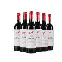 奔富128 澳大利亚原瓶进口红酒 奔富酒庄 BIN128红葡萄酒 750ml(6瓶装)