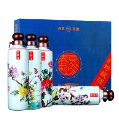 53°汾酒产地杏花村春夏秋冬清香型原浆白酒礼盒装248mL*4