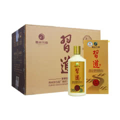 53°茅台集团习酒习道清韵酱香型白酒500ml(6 瓶装)
