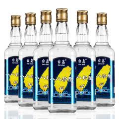 台岛台湾高粱酒 八八珍酿42度 600ml*6瓶 金门清香型 整箱白酒