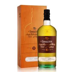 43°苏格登21年单一麦芽威士忌700ml