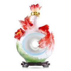 52°北京特产皇家京都莲年有余二锅头酒3L