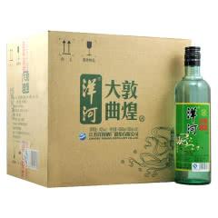 42°洋河敦煌大曲(绿敦煌)口感绵柔浓香型白酒500ml(12瓶装)